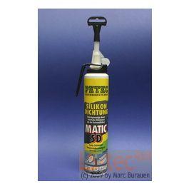 Dichtmittel Silikon MATIC SD 200 ml (schwarz) Petec