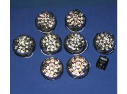 LED-Leuchten Set (Klar) für LR Defender