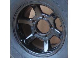 "Felge Leichtmetall Borbet CW Design 8 x 16"" ET 5 mm (schwarz)"