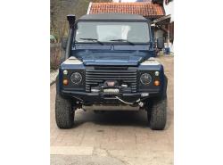 Seilwindenstoßstange TREKFINDER Land Rover Defender