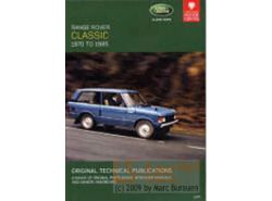 DVD Range Rover Classic 1986-1994