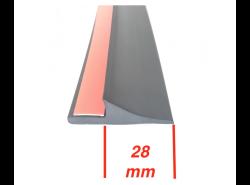 Kotflügelverbreiterung universal: 4 Stück / 28mm breit / a 150cm lang