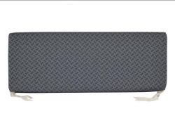 Sitzkissen zu Sitzbank hinten längs (Stoffbezug Techno grau)