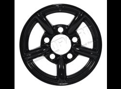Felge Leichtmetall ZU 7x16 ET 11 mm (schwarz glänzend)