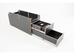 Kaua´i Camper LRD 110 Duo - Schubladensystem