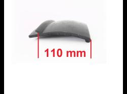 Kotflügelverbreiterung universal: 2 Stück / 110 mm breit / a 150 cm lang