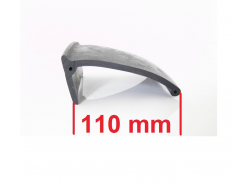 Kotflügelverbreiterung universal: 2 Stück / 110 mm breit / a 150 cm lang Seitenm