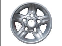 """Felge Leichtmetall 7.0 x 16"""" Deep Dish (Sparkle Silver)"""