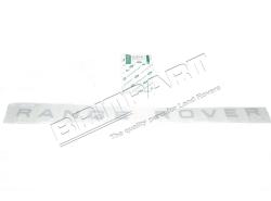 """Schriftzug """"RANGE ROVER"""" Motorhaube RR P38, silber"""