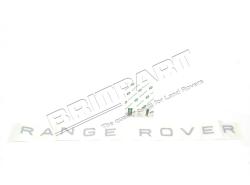 "Schriftzug ""RANGE ROVER"" Motorhaube RR P38, Basalt"