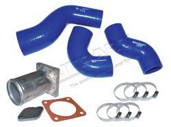 Silikonschlauch-Set LLK mit Ersatzrohr AGR-Modulator Defender Td5