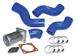 Silikonschlauch-Set LLK mit Ersatzrohr AGR-Modulator Discovery Td5