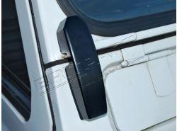 Windschutzscheibenscharniere fest aus Alu Defender ab JA912346 (Paar)
