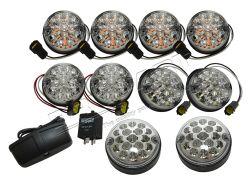 LED Leuchtensatz DE LUXE Defender (klar)