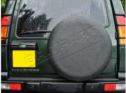 Reserveradabdeckung Vinyl schwarz