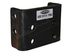 Adapterplatte Dixon Bate höhenverst. (2 Bolzen-Befestigung)