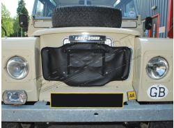Kühlerabdeckung Serie III Standard, schwarz