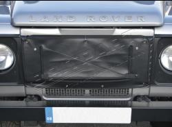 Kühlerabdeckung Defender Standard, schwarz