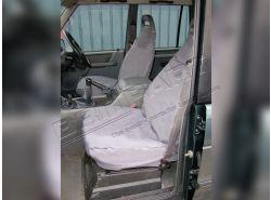 Sitzbezüge wasserdicht Discovery I vorne (grau)
