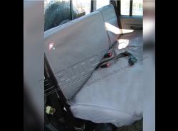 Sitzbezüge wasserdicht Defender 110 SW hinten (grau)