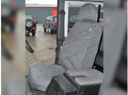 Sitzbezüge wasserdicht Defender Td4 vorne (grau)