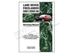 Werkstatthandbuch Freelander 1 2001-2003 ON