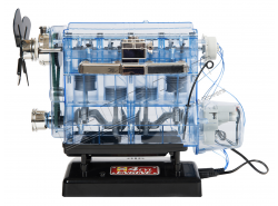 Modellbausatz Motor (4-Zyl.)