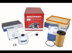 Service-Kit Range Rover Sport 2.7 TDV6 ab 7A000001 (OEM)