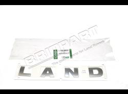 """Schriftzug """"LAND"""" Motorhaube Discovery 3 bis 6A..."""