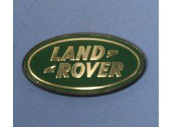 """Emblem """"LAND ROVER"""" klein (grün/gold)"""