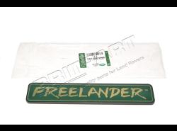"Schriftzug ""FREELANDER"" Hecktür (grün/gold)"