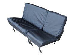 Sitzbezüge wasserdicht Defender bis 2006 2. Sitzreihe schwarz