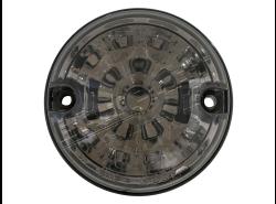 LED-Begrenzungsleuchte vorne Defender Ø 73 mm Rauchgrau